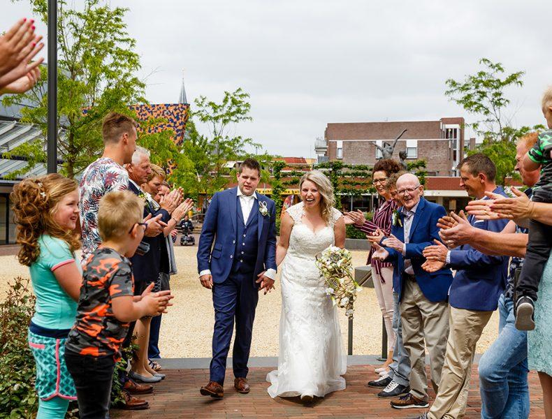 bruidsfotograaf, Hardenberg, trouwen, trouwfotograaf, huwelijk, Compagne bruidsmode, trouwjurk